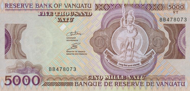 Vanuatu P.12 5000 Vatu (2006) (1)