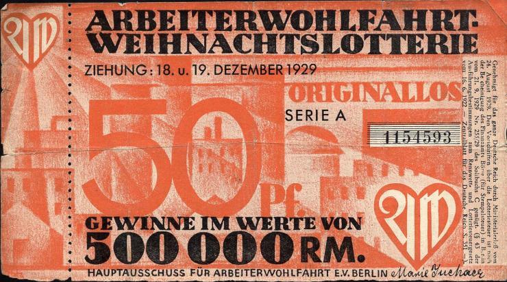 Arbeiterwohlfahrt Weihnachtslotterie 1929 (3)
