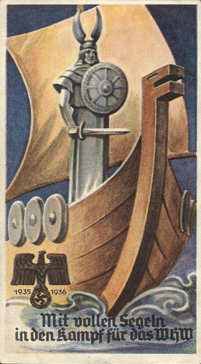 WHW Plaketten 1935/1936 Oktober 1935 (1-)