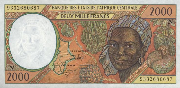 Äquatorial Guinea / Equatorial G. P.503Na 2000 Francs 2000 (1)
