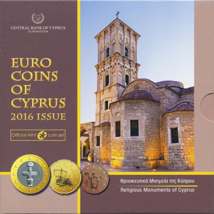 Zypern Euro-KMS 2016