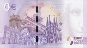 0 Euro Souvenir Schein 300 Jahre Herkules (Kassel) 2017 (1)