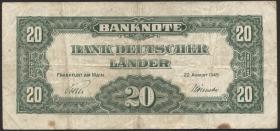 R.260 20 DM 1949 Bank Deutscher Länder (4)