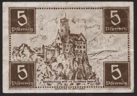 R.214a: Württemberg 5 Pf. 1947 (3)
