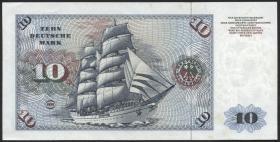 R.275b 10 DM 1977 YE-A Ersatznote (1/1-)