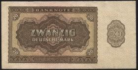 R.344c 20 DM 1948 Ersatznote (3)