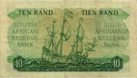 Südafrika / South Africa P.107b 10 Rand (1962-65) (Africaans) (3)