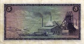 Südafrika / South Africa P.112a 5 Rand (1966) (Afrikaans) (3)