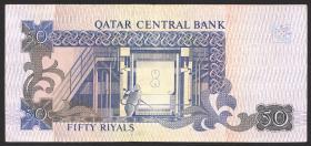 Qatar P.17 50 Riyals (1996) (3+)