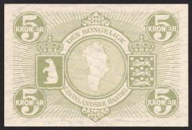 Grönland / Greenland P.18 5 Kroner (1953) (1)
