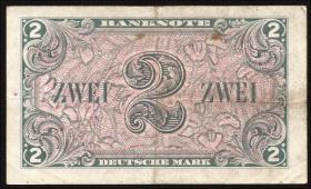 R.235a 2 DM 1948 B-Stempel  Serie A/A (3)