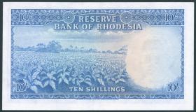 Rhodesien / Rhodesia P.24 10 Shillings 1964 (1)