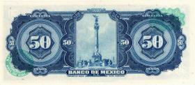 Mexiko / Mexico P.049u 50 Pesos 1972 (1)