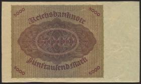 R.086: 5000 Mark 1923 ohne Überdruck (1/1-)