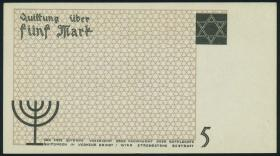 Getto Litzmannstadt 5 Mark 1940 (1)