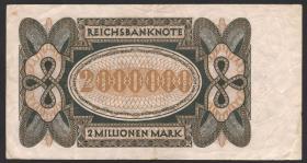 "R.089F 2 ""Mulionen"" Mark 1923 Fehldruck (3)"