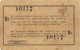 R.916q: Deutsch-Ostafrika 1 Rupie 1915 A2 (3)