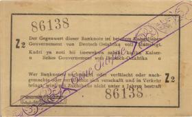 R.928t: Deutsch-Ostafrika 1 Rupie 1916 Z (1-)