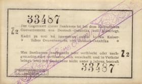 R.928t: Deutsch-Ostafrika 1 Rupie 1916 Z (1)