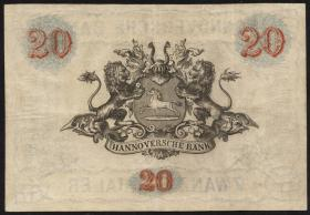 A-039: Hannover 20 Thaler Courant 1857 (3)