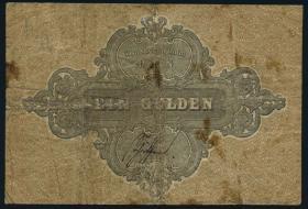 A-119 Hessen-Darmstadt 1 Gulden 1856 (4)