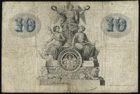 A-368 Reuss Geraer Bank 10 Thaler 1856 (4)