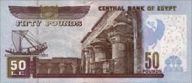 Ägypten / Egypt P.66 50 Pfund 3.6.2013 (1)