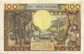 Äquat.-Afrikan.-Staaten P.03c 100 Francs (1963) C (3)
