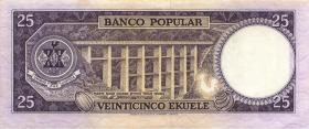 Äquatorial Guinea / Equatorial G. P.004 25 Ekuele 1975 (1)