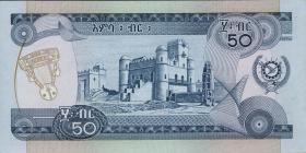 Äthiopien / Ethiopia P.33a 50 Birr (1976) (1)
