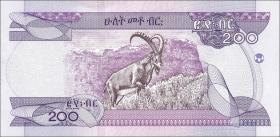 Äthiopien / Ethiopia P.Neu 200 Birr 2020 (1)