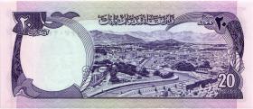 Afghanistan P.48a 20 Afghanis 1973 (1)