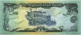 Afghanistan P.57b 50 Afghanis 1991 (1)