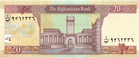 Afghanistan P.68b 20 Afghanis 2004 (1)