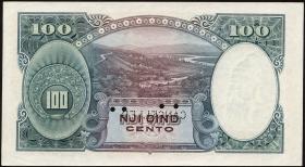 Albanien / Albania P.04s 100 Franka Ari (1926) Specimen (1)