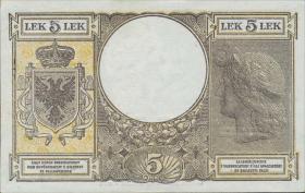 Albanien / Albania P.10 5 Lek 1942 (1)