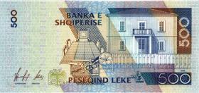 Albanien / Albania P.64 500 Leke 1996 (1)