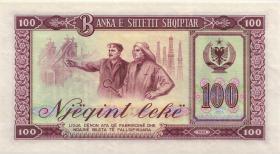 Albanien / Albania P.39 100 Leke 1964 (1)