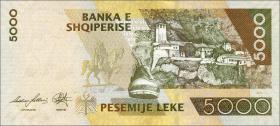 Albanien / Albania P.75b 5000 Leke 2013 (1)