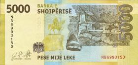 Albanien / Albania P.neu 5000 Leke 2017 (2019) (1)