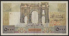 Algerien / Algeria P.109b 5000 Francs 1955 Apollo (3)