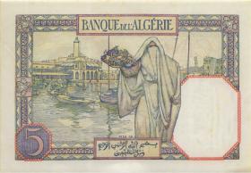 Algerien / Algeria P.077b 5 Francs 1941 (1)