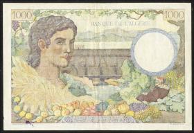 Algerien / Algeria P.089 1000 Francs 1942 (3)
