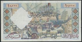 Algerien / Algeria P.110 10000 Francs 1955 (3-)