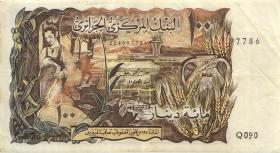 Algerien / Algeria P.128a 100 Dinars 1970 (3)