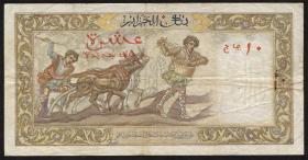 Algerien / Algeria P.119a 10 Neue Francs 1961 (3)
