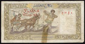 Algerien / Algeria P.119a 10 Neue Francs 1961 (4)