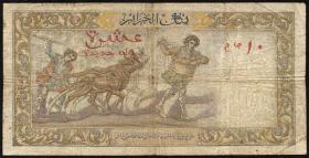 Algerien / Algeria P.119a 10 Neue Francs 1960 (4)
