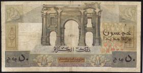 Algerien / Algeria P.120a 50 Neue Francs 31.07.1959 (4)