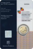 Andorra 2 Euro 2020 XXVII. Iberoamerikanisches Gipfeltreffen im Blister